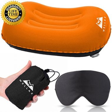WellaX Ultralight Camping Pillow by Chillax