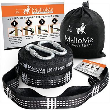 MalloMe XL Hammock Straps