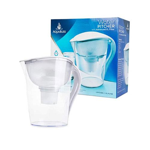 AquaBliss Water Filter Pitcher
