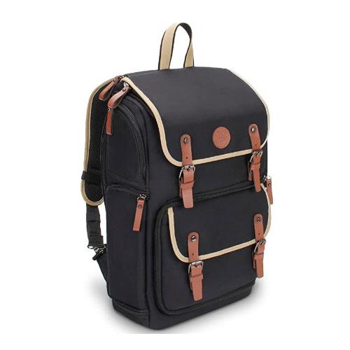 Gogroove Full-Size DSLR Camera Backpack For Hiking