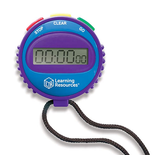 Learning Resources Simple Swimming Stopwatch