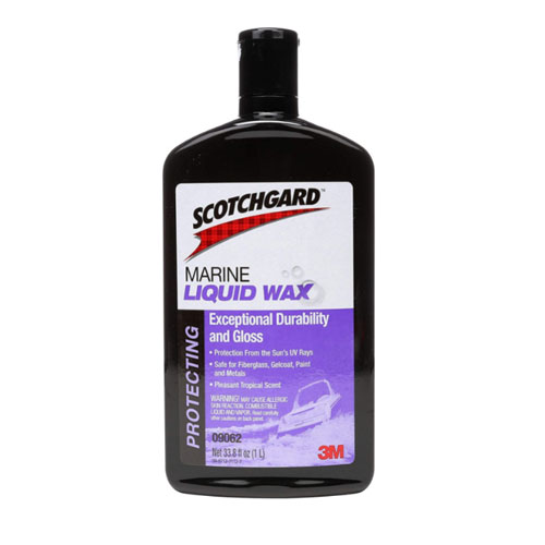 3M 09062 Marine Liquid Boat Wax