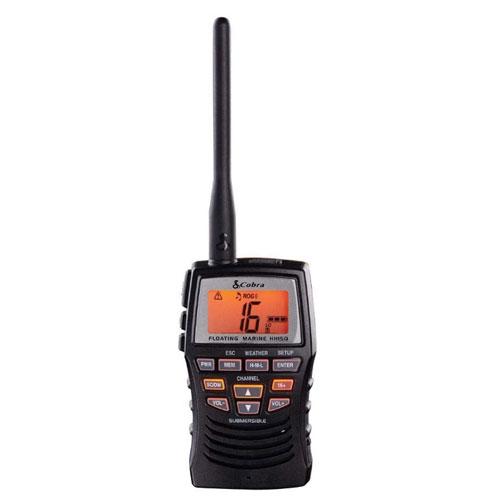Cobra MRHH125 3 Watt Waterproof VHF Marine Radio