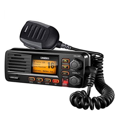 Uniden UM380 25 Watt Fixed Mount VHF Marine Radio