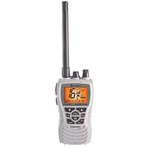 Cobra HH350W FLT MR HH350 6 Watt Handheld VHF Marine Radio