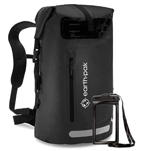 Earth Pak Waterproof Roll Top Backpack