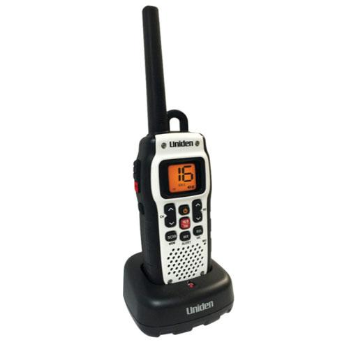Uniden Handheld Floating Waterproof VHF Marine Radio