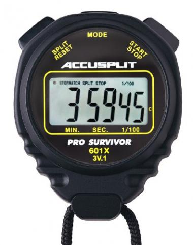 ACCUSPLIT Pro Survivor – A601X Swimming Stopwatch