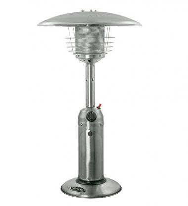 Hiland AZ Patio Heaters Portable Table Top Stainless Steel Patio Heater