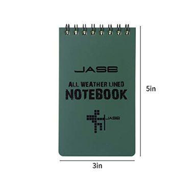 Aketek Set of 5 All-Weather Waterproof Notebook