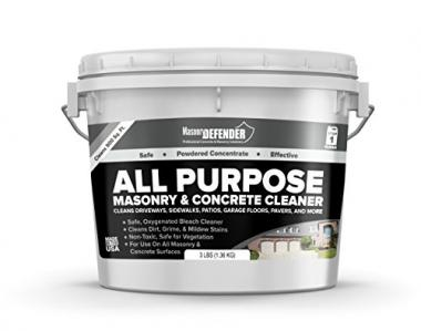 MasonryDefender All-Purpose Masonry and Concrete Patio Cleaner
