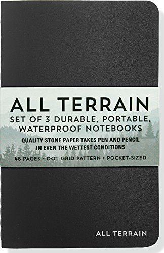 Peter Pauper Press All Terrain Waterproof Notebooks