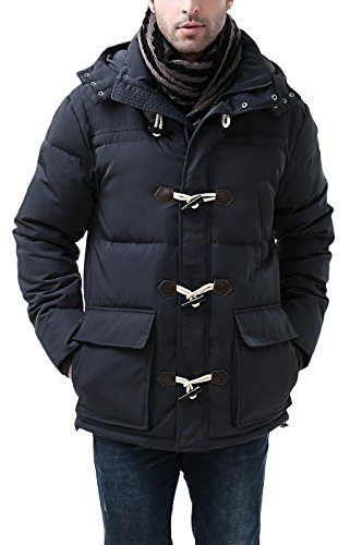 BGSD Men's Connor Hooded Waterproof Toggle Down Jacket