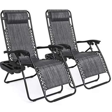Best Choice Products Gravity Lounge Patio Chairs