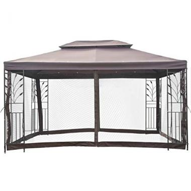 BestMassage 10'x10′ Hot Tub Gazebo