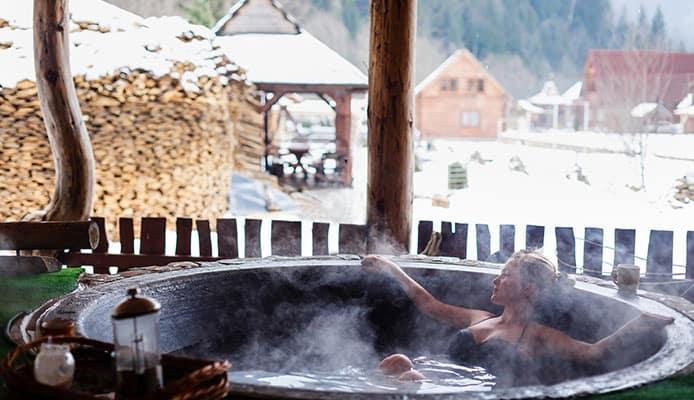 Wood fired hot tub vs electric