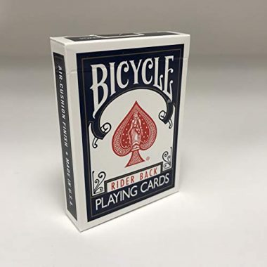 Bicycle 1005016 Rider Back Index Playing Cards Camp Game