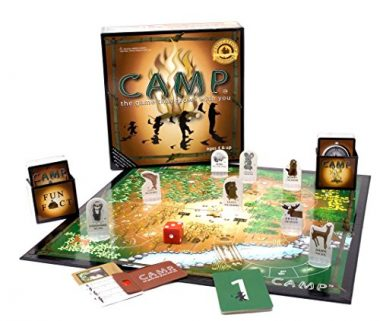 Education Outdoors – Camp Board Game