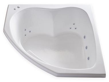 Whirlpool Bathtub by Carver Tubs
