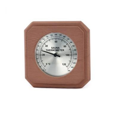 Cedar Encased Sauna Thermometer by The Sauna Place