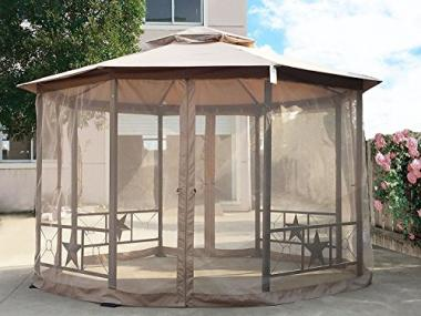 Cloud Mountain Outdoor (12×12 Ft) Hot Tub Gazebo
