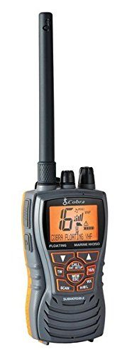 Cobra MRHH350FLT Floating VHF Long Range Marine Radio