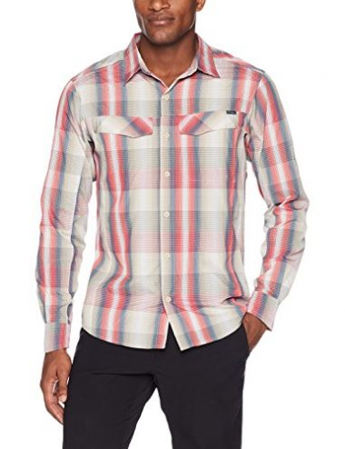 Columbia Men's Silver Ridge Plaid Long Sleeve Hiking Shirt