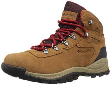 Columbia Newton Ridge Full Grain Leather Hiking Boots For Women