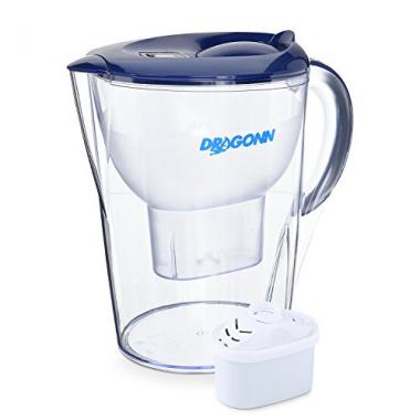 DRAGONN pH Restore Alkaline Water Filter Pitcher