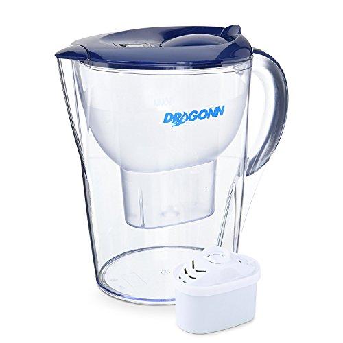 DRAGONN pH Restore Alkaline Water Filter Pitcher