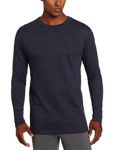 Duofold Men's Mid Weight Wicking Crew Neck Top Hiking Shirt