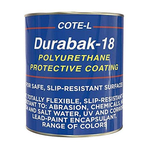 Durabak 18 Non-Slip Coating Deck Paint for Boats