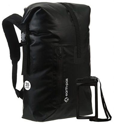 Earth Pak Waterproof Roll Top Backpack