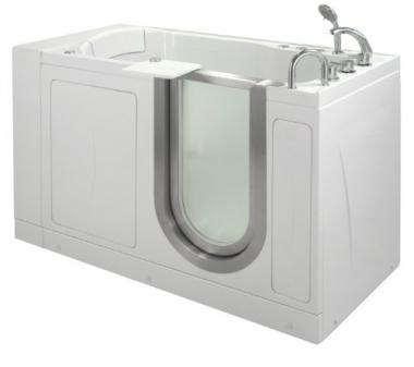 Walk-in Hydro Massage Bathtub by Ellas Bubbles