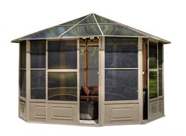 Gazebo Penguin 41212 Solarium, 12-Feet Hot Tub Gazebo