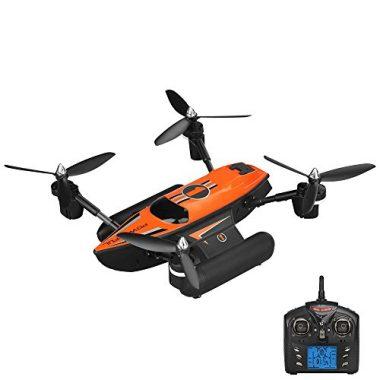 Goolsky Q353 Triphibian 2.4G 6-Axis Gyro Air-Ground-Water RC Quadcopter Headless Mode RTF Drone