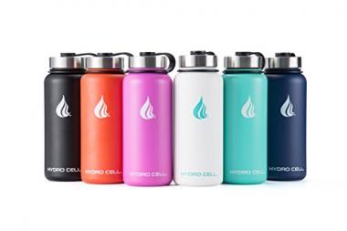 Hydro Cell Vacuum Insulated Stainless Steel Water Bottle