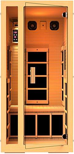 JNH Lifestyles Joyous 1 Person Far Infrared Home Sauna
