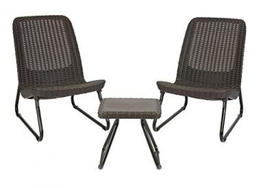 Keter Rio 3-Piece Patio Chairs