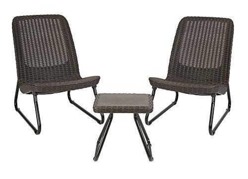 Keter Rio All Weather Patio Garden Outdoor Furniture