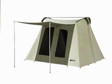 Kodiak Canvas Flex-Bow 6-Person Canvas Glamping Tent