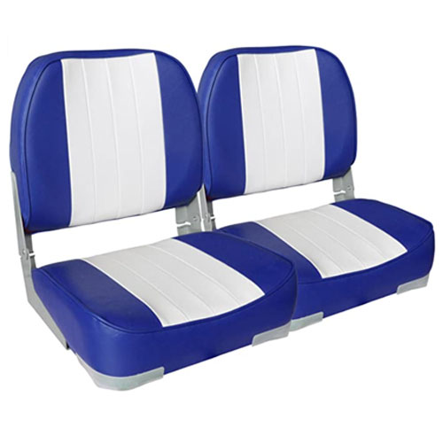Leader Accessories A Pair of New Low Back Folding Boat Seat