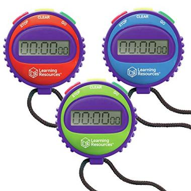 Learning Resources LER0808 Simple Swimming Stopwatch