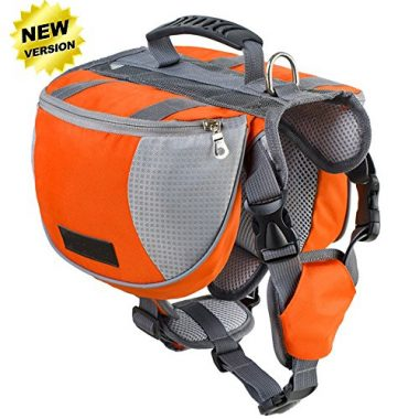 Lifeunion Adjustable Saddle Dog Backpack