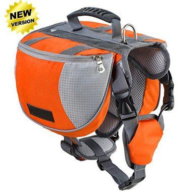 Lifeunion Adjustable Saddle Dog Backpack
