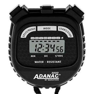 Adanac 3000 Digital Stopwatch by MARATHON