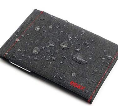 VBAX Mens Bifold Slim Waterproof Wallet