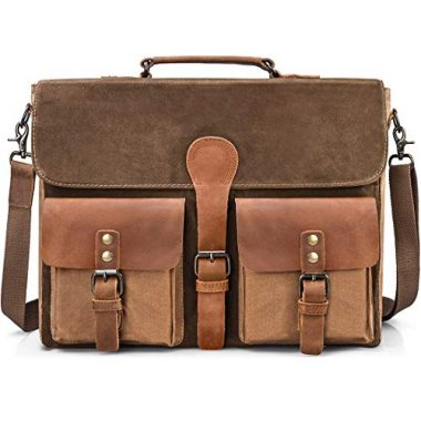 NEWHEY Mens Waterproof Messenger Bag