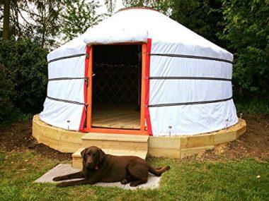Portable Yurt for Glamping by Mongulai