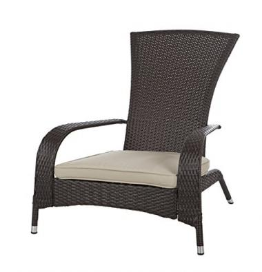 Patio Sense Wicker Adirondack Patio Chair